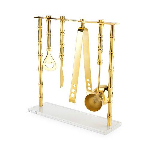 Gold Bamboo Bar Set (Bar Bamboo)
