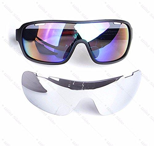 e2480657cfa9 Lorsoul Polarized Sports Cycling Sunglasses Bike Glasses for Men Women  Running Driving Fishing Golf Baseball Racing