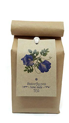 Smileshops Organic Dried Butterfly Pea Tea – Drink With Honey – All Natural Ingredients – Nontoxic, GMO-Free And Filler-Free –Pure Organic Thai Herbal Tea – Take it with honey and lemon to enjoy its awesome taste and revel in the tasteful experience it brings -Safe And Healthy – 100% Value For Money.