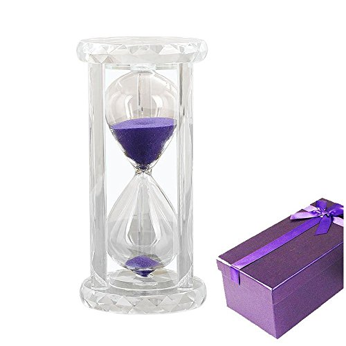 KOZYHOUSE Minute Hourglass Timer Purple