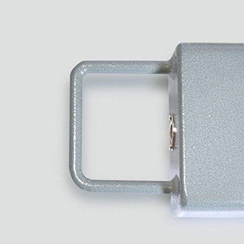 Barras Pesadoras movibles Baxtran XFI (3000Kgx1Kg) (80cm) con asa y ruedas para moverla de lugar: Amazon.es: Bricolaje y herramientas
