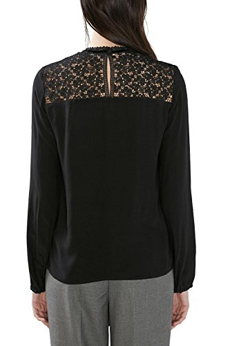 ESPRIT Collection, Blusa para Mujer Negro (BLACK 001)