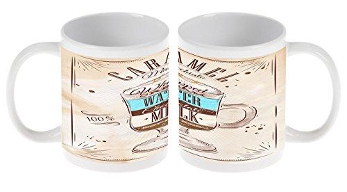 Taza Restaurante Cocinas Receta dulce de leche Ceramica impreso: Amazon.es: Hogar