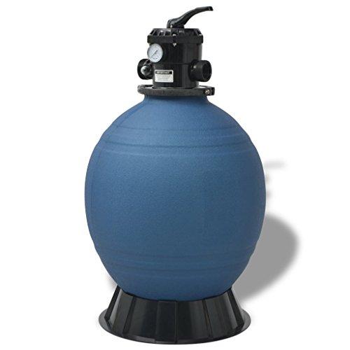 Daonanba Pool Sand Filter 22 inch Round Blue by Daonanba