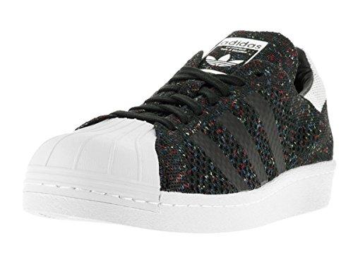 adidas Originals Men's Superstar 80s Pk Running Shoe, Cblack Ftwwht, (11 M US)