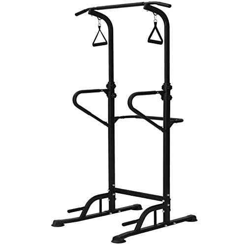 LIANXIN Power Tower – Home Gym Adjustable Multi-Function Fitness Strength Training Equipment Stand Workout Station