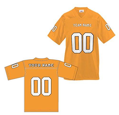 Gold Replica Football Jersey - OnTheField.com Custom Football Replica Team Jersey (XXX-Large, Gold)