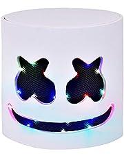 DJ Mask Music Festival Full Head LED Light Up Masks for Man Women Kids Thanksgiving Christmas Halloween Party