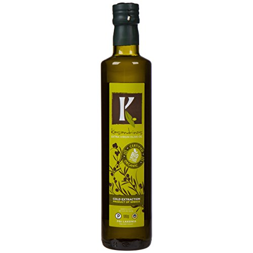 [Kasandrinos Organic Extra Virgin Greek Olive Oil (500 ML Bottle)] (Greek Extra Virgin Olive Oil)