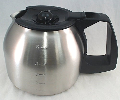 Mr. Coffee 5 Cup, Stainless Steel Carafe, Model: JWX9 139049-000-000 by Seneca River Trading