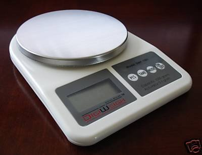 NEW Diet Watchers' DIGITAL KITCHEN SCALE! DigiWeigh Tabletop Balance for Food Portions, Dietary Supplements, Weight Loss Nutrients & More!