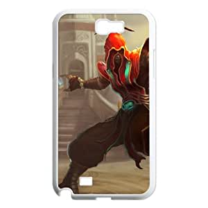 League of Legends(LOL) Lee Sin Samsung Galaxy N2 7100 Cell Phone Case White DIY Gift pxf005-3693447