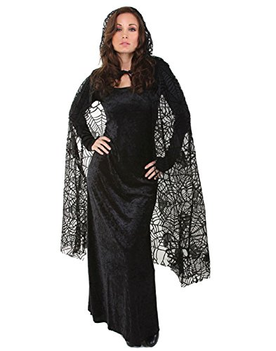 Sheer Spiderweb Cape Costumes ()
