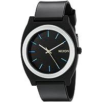Nixon Men's A1191529-00 Time Teller P Analog Display Japanese Quartz Grey Watch
