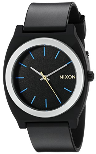 Nixon Men's A1191529-00 Time Teller P Analog Display Japanese Quartz Grey Watch by NIXON