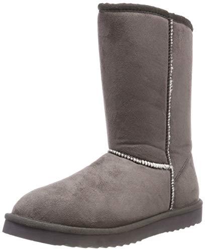 Grey Dark Slouch para UMA Botas Esprit Classic Mujer 020 Gris wq8UTn