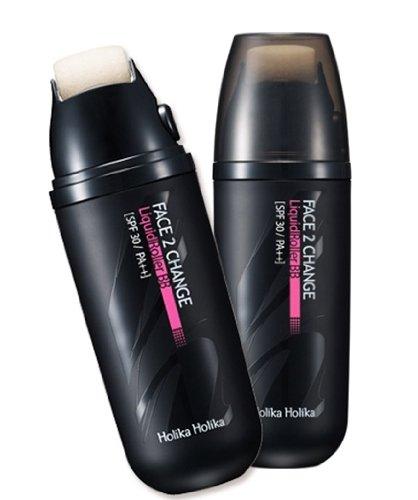 KOREAN COSMETICS, ENPRANI_ HolikaHolika, Face 2 Change Liquid Roller BB Cream # NO21.Bright Beige (SPF30 PA + + UV protection, anti-wrinkle, defect-free skin, shiny skin)[001KR]