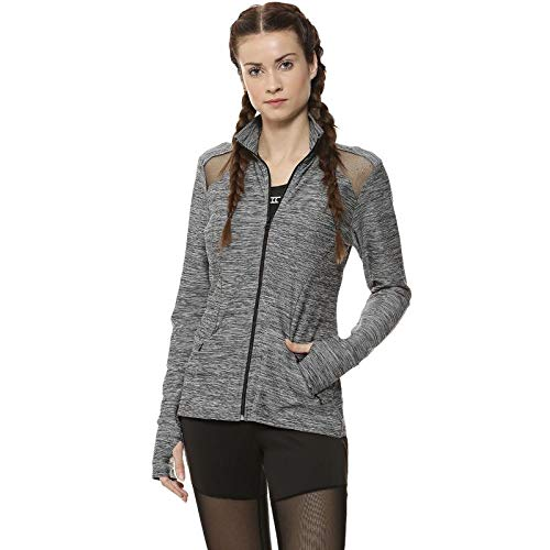 Campus Sutra Full Sleeve Solid Women Stylish Sports Jacket