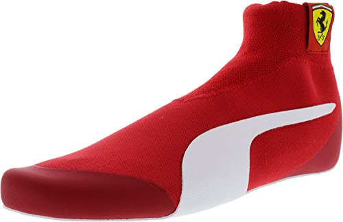 PUMA Men's SF Driver Evoknit Replica Walking Shoe, Rosso Corsa White Black, 9 M (Puma Racing Shoes)