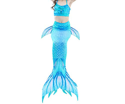 3Pcs/Set Mermaid Tail Swimsuit Swimwear Bathing Suit CCostume