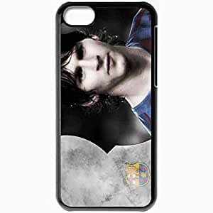 XiFu*MeiPersonalized iphone 6 4.7 inch Cell phone Case/Cover Skin Messi Football BlackXiFu*Mei