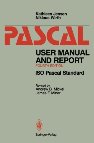 Pascal User Manual and Report: ISO Pascal Standard by Springer