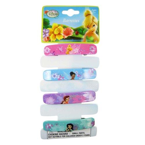 Disney Tinker Bell 4pc Hair Barrettes - Tinker Bell Barrettes - Tinkerbell Hair Clips -