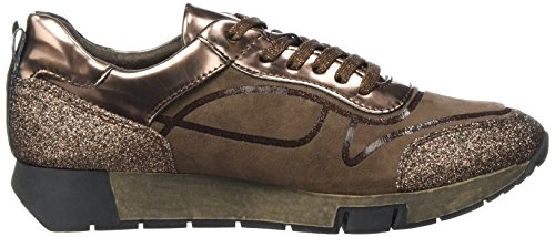 Sneakers Femme 23718 Marron Basses Tamaris Comb chocolate qUpx55