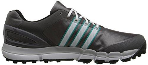 adidas - Zapatos de cordones para hombre Granite/Running White/Power Green