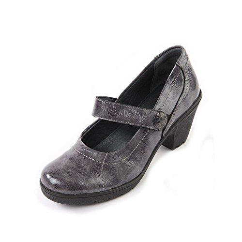 lacets pour Suave à noir verni femme ville de Chaussures 7wqqxBISa
