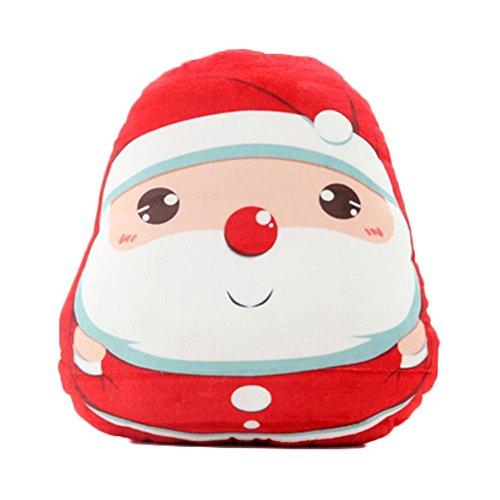 Kylin Express Santa Claus Plush Toy/Plush Hold Pillow/Throw Cushion
