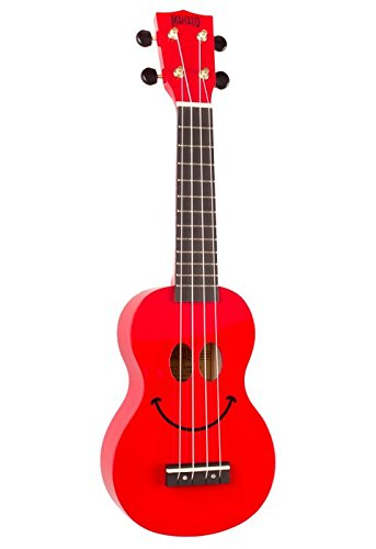 Guitarra Mahalo ukelele C/Bolsa smilerosso Mahalo stv106r Rojo ...