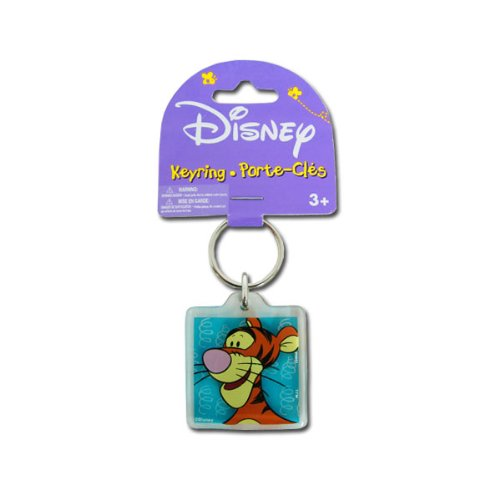 Price comparison product image Acrylic Keychain in Classic Disney Character Design - Tigger with Springs