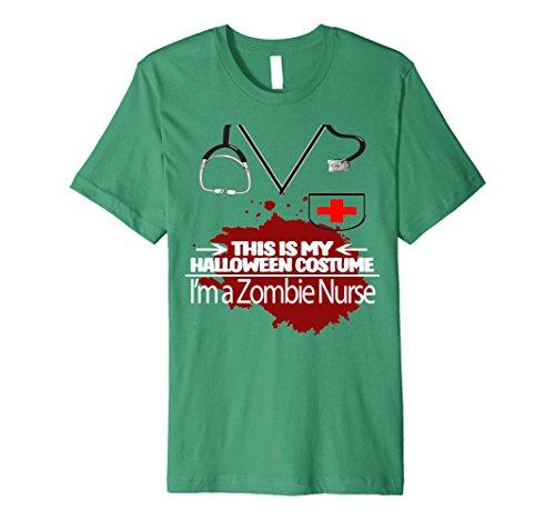 Zombie Nurse Halloween Costume Shirt - Men Women Youth Sizes