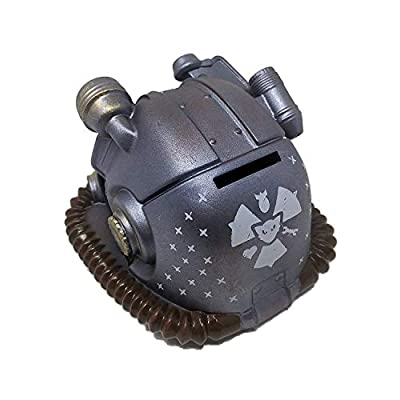 Loot Crate Fallout Atom Cat Power Armor PVC Coin Bank: Toys & Games
