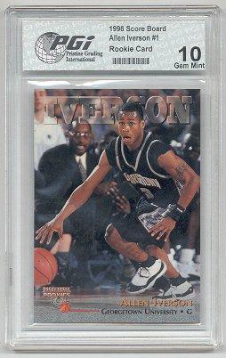 Amazoncom 1994 Jason Kidd Topps Rookie Card Gem Mint Pgi 10 Nets