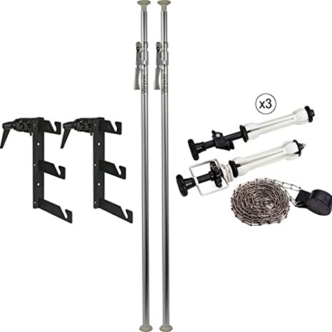 Impact Deluxe Varipole Support System Mit Metall Kette Kamera