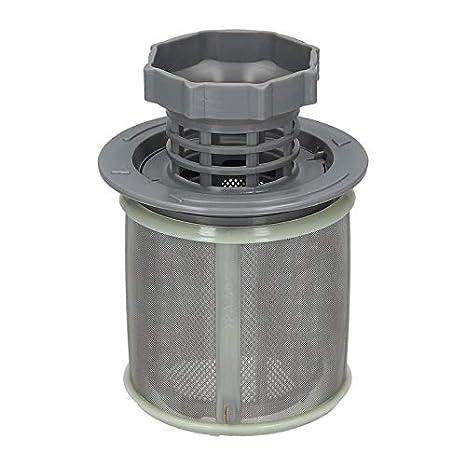 Filtro de tamiz Tamiz fino Tamiz de suciedad Micro tamiz Lavavajillas Lavavajillas de 3 piezas para Bosch Siemens Neff 00427903 427903