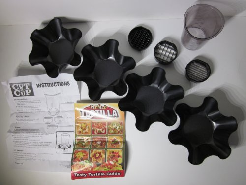 Perfect Tortilla Deluxe Molds Cut n cup product image