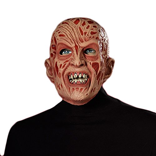 Freddy Krueger Costumes Girl (Freddy Krueger Vinyl Mask)