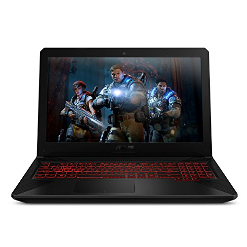 ASUS TUF Gaming Laptop FX504 15.6 120Hz 3ms Full HD, Intel Core i7-8750H Processor, GeForce GTX 1060 6GB, 16GB DDR4, 256GB PCIe SSD + 1TB HDD, Gigabit WiFi, Windows 10 Home - FX504GM-ES74