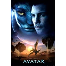Avatar Sunset Sci-Fi Movie Poster 24 x 36 inches