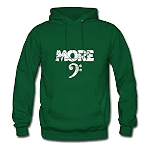 Women Off-the-record Stylish Caleter X-large Custom-made More Bass Vintage White Green Hoodies