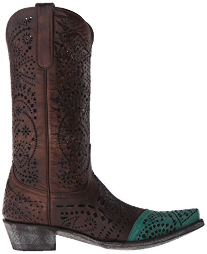 Gringo Ves Ves Brass Old Western Women's Strecher Boot dwRZqX