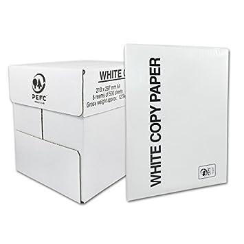 Druckerpapier Fax+Laser+Copy+Duplex Kopierpapier A4 21 cm x 29,7 cm 2500 Blatt