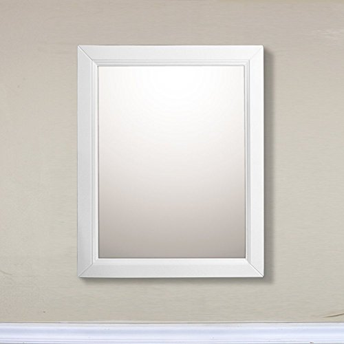 Bellaterra Home 7610-M-WH Mirror, 30-Inch, White free shipping