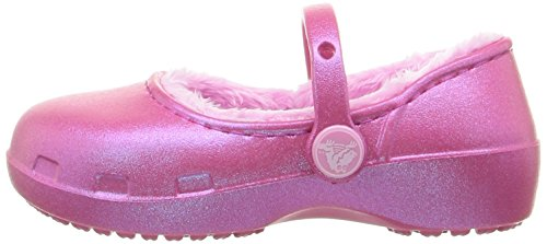 Pictures of Crocs Karin Lined Clog Mary Jane (Toddler/ Pink 5