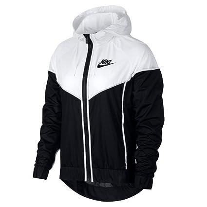 Nike W NSW WR JKT – Chaqueta Mujer, Mujer, 883495-011, Negro