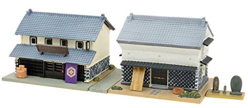Tomytec diorama collection building collection 056-3 soy sauce shop / warehouse 3 diorama supplies