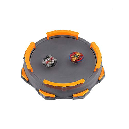 Alimao Burst 2019 New Gyro Arena Disk Exciting Duel Spinning Top Beyblades Launcher Stadium Grey